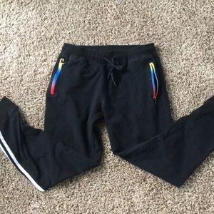 🌈 black sweatpants!!!